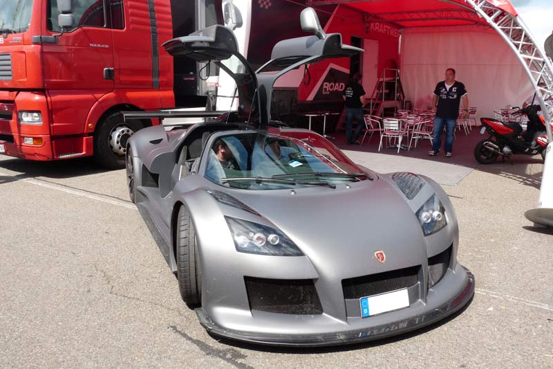Carspotting Gumpert apollo