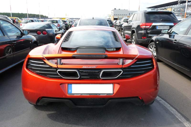 Carspotting McLaren MP4-12C