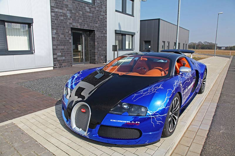 bugatti veyron sang noir fahrzeugfolierung des limitierten. Black Bedroom Furniture Sets. Home Design Ideas