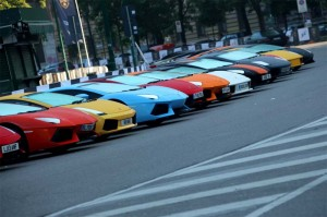 Lamborghini 50th Anniversary Grand Tour